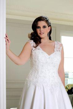 Atractivos vestidos de novia para gorditas   Moda y Tendencias para bodas