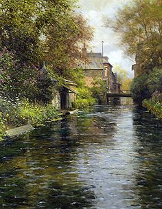 Louis Aston Knight  (1873 - 1948)  Beaumont-le-Roger