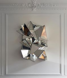 mirrored sculpture / Mathias Kiss