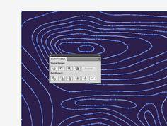 How To Create a Contour Map Effect in Illustrator