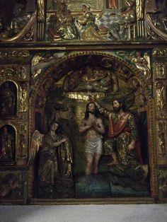 Seville: Convento de Madre de Dios: Retablo de San Juan Bautista | da jrclarke
