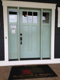Romanelli & Hughes Front Door by Knittin4britain
