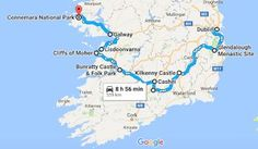 First Time to Ireland? Suggested 2 Week Route