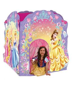 Take a look at this Disney Princess Deluxe Play Tent by Playhut on today!  sc 1 st  Pinterest & Disney Princess Hide N Play Tent. $19.50 | Baby u0026 Toddler Toys ...