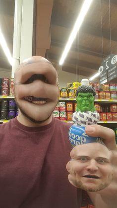Faceswap avec Hulk (Fail)