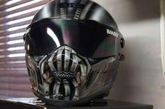 Blaze Artworks Custom Motorcycle Helmet 102