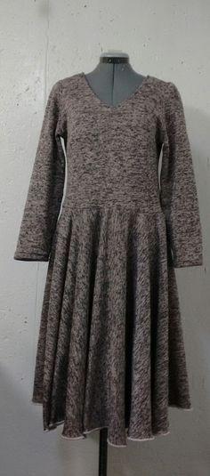 Woman's Fashion - Handmade -Custom designed dress from sport fleece