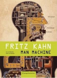 In 1926, German writer and artist Fritz Kahn came up with his famous Der Mensch als Industriepalast (Man as Industrial Palace) analogy. Kahn's illustrations compartmentalized the body's functions in great detail, brilliantly depicting human physiology through analogies with an industrial factory.