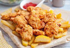 Nuggetsy z kurczaka według przepisu z USA. Te z McDonald's mogą się schować. PRZEPIS Kfc, Chicken Wings, Curry, Ethnic Recipes, Food, Diet, Curries, Essen, Meals