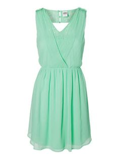 So I've got my dress - now to find shoes and a bag! What colour should I pair with it?!  SUMMER V-BACK SHORT DRESS, Lucite Green, main