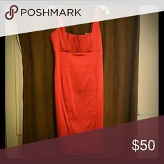 Beautiful red/burgundy dress New, never worn, smoke free home. Calvin Klein Dresses Midi
