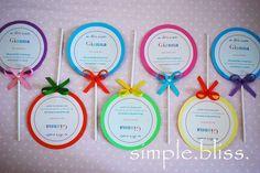 49 best birthday invites images on pinterest birthday invitations one simple bliss lollipop birthday filmwisefo