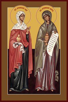 St. Martha and St. Mary of Bethany