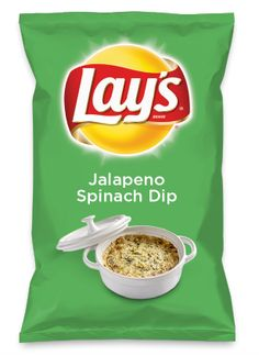 Wouldn't Jalapeno Spinach Dip be yummy as a chip? Lay's Do Us A Flavor is back, and the search is on for the yummiest flavor idea. Create a flavor, choose a chip and you could win $1 million! https://www.dousaflavor.com See Rules.