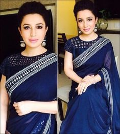 Image result for high neck saree blouse