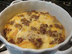Cheese & Sausage Breakfast Casserole   Flickr - Photo Sharing!