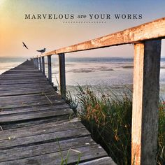 Marvelous are your works