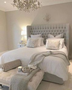 47 Stylish Design Ideas for the Master Bedroom Budget 47 Style . - 47 Stylish design ideas for the master bedroom budget 47 Style Modern Staircase Budge - Home Decor Bedroom, Apartment Furniture, Bedroom Interior, Luxurious Bedrooms, Small Master Bedroom, Master Bedrooms Decor, Simple Bedroom, Small Bedroom, Stylish Master Bedrooms