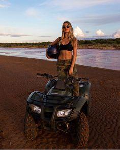 Atv Accessories To Make That Next Flight Memorable Country Life, Country Girls, Voyage Dubai, Foto Cowgirl, Ski Doo, Motocross Girls, Atv Riding, Shotting Photo, Moto Cross