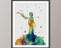 Le Petit Prince Le Petit Prince imprimer mariage par ZenioArt