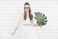 {Inspiration} Une décoration de Mariage Tropical. Fruits exotiques, ananas, ambiance aloha sur la plage, voici mes inspirations pour un mariage tropical