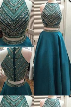 a70ec8f1ed7d On Sale Outstanding Prom Dresses A-Line, Two Pieces Prom Dresses Prom  Dresses A