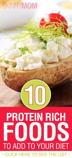 Get The Skinny On These 10 Protein Rich Foods You HAVE To Add To Your Diet!