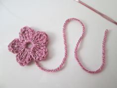 Uncinetto fiore tutorial  | crochet flower tutorial