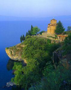 Church, Lake Ohrid, Macedonia