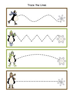 Winter Activity Printables   Preschool Printables: Penguin Winter Fun