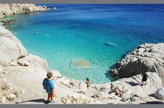 GREECE CHANNEL | Ikaria Greece -quite a walk down but well worth it!