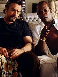Robert De Niro & Samuel L Jackson in Jackie Brown