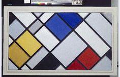 Theo van Doesburg [1883-1931] Contra-compositie van dissonanten XVI Clamart (France) 27 augustus - 30 november 1925 hoogte 120,0 cm breedte 199,9 cm olieverf op doek