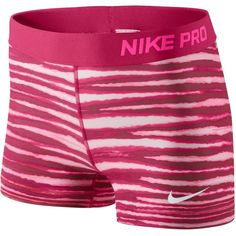 NWOT Nike Pro Tiger Shorts  Rare Nike Pro shorts with a pink tiger stripe design! Size small. These shorts are super cute and unique! Nike Shorts
