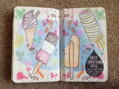 drip something here wreck this journal - Google Search