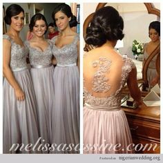 Stunning Bridesmaids Dress Details