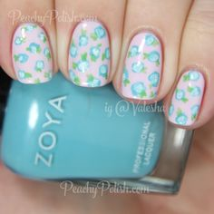 Pocket Full Of Posies Floral Print | Peachy Polish