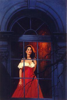 gothic romance paperback art | Gothic Romance