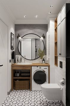 Home Room Design, Small Bathroom Makeover, Bathroom Decor, Bathroom Design Luxury, Bathroom Design Small, Bathroom Inspiration Decor, Interior Design Kitchen, Bathroom Interior Design, Bathroom Design