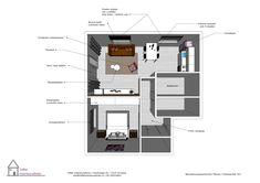 3D ontwerp woonkamer Tilburg