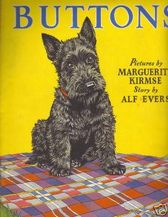 Buttons by Marguerite Kirmse (book, Scottish Terrier)