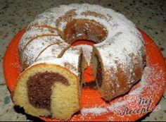 FITNESS bábovka z jablek a ovesných vloček | NejRecept.cz Toffee Bars, Bunt Cakes, Czech Recipes, No Bake Cake, Bagel, Doughnut, Bread Recipes, Sweet Recipes, Muffin