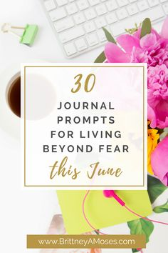 This month's journal prompts are now live! And it's all about reflecting outside of your comfort zone. Grab yours