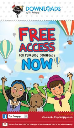 ALL FREE NOW! FREE resources for super teachers!  http://downloads.thepedagogs.com/?page_id=16 #PedagogsDownloads