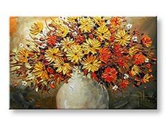 Tablouri canvas 1 piesă FLORI BI0020E1 Wreaths, Fall, Painting, Home Decor, Autumn, Decoration Home, Door Wreaths, Fall Season, Room Decor