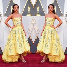 Alicia Vikander, Oscars 2016