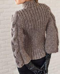 Chaqueta de punto hechos a mano ropa de invierno lana | Etsy Easy Crochet Patterns, Knitting Patterns Free, Hand Knitting, Simple Crochet, Mohair Cardigan, Crochet Coat, Knit Jacket, Knit Fashion, Coat Dress