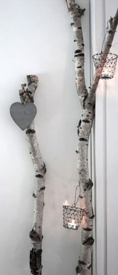 Decorazioni con alberi e tronchi! Ecco 20 esempi bellissimi per la casa…