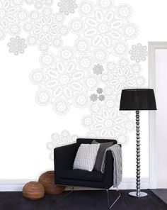 Mr Perswall wallpaper - Lace  www.mrperswall.se  www.mrperswall.com