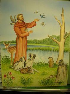 St Francis patron of animals